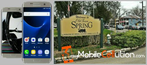 Apple iPhone, iPad Tablet, and Samsung Galaxy Cell Phone Cracked Screen Repair for Spring, TX