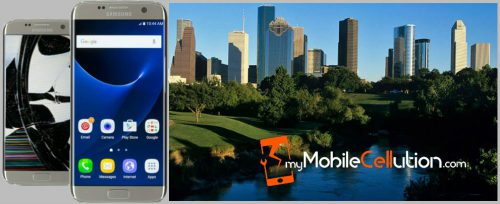 iPhone, iPad Tablet, and Samsung Galaxy Cell Phone Cracked Screen Repair in Houston, TX
