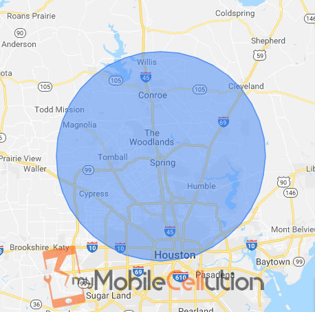 Mobile Phone Repair service for: Houston, TX   Spring, TX   The Woodlands, TX   Conroe, TX   Humble, TX   Kingwood, TX   Willowbrook, TX   Tomball, TX   Porter, TX   New Caney, TX   Atascocita, TX